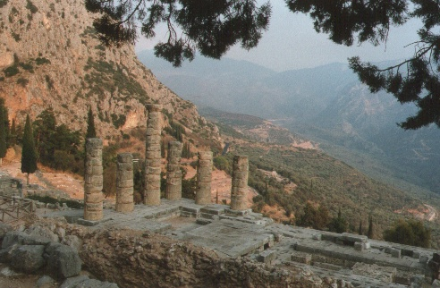 Apollontempel, Delphi