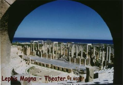 Leptis Magna - Theater